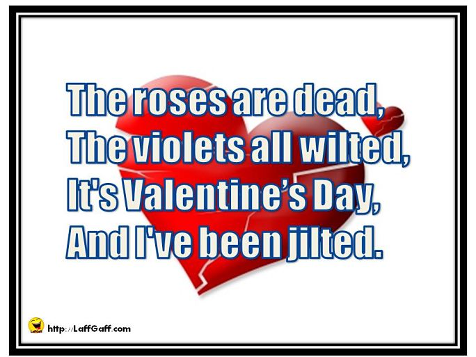 Dead Roses - Funny Valentine's Poem