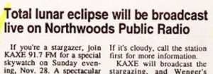 Eclipse Funny Newspaper Headline