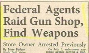 Federal Agents Funny Headline