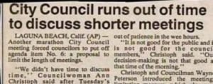 Shorter Meetings Funny Headline