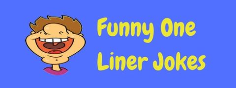A collection of really funny one liners