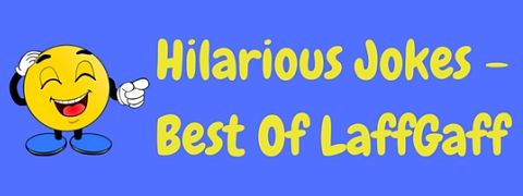 A collection of the most hilarious jokes from the LaffGaff website