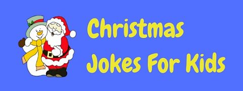 Christmas humor and jokes for kids