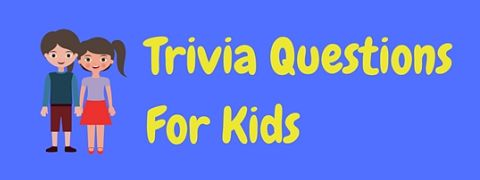 A collection of fun free trivia questions for kids with answers included