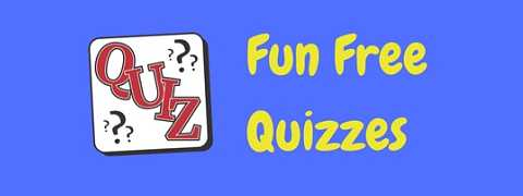 A selection of free quizzes to test your mind!