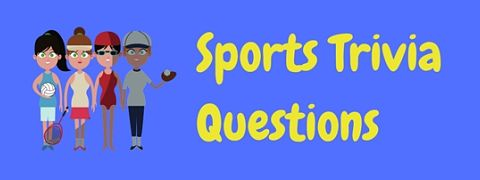 A collection of free sports trivia questions and answers.