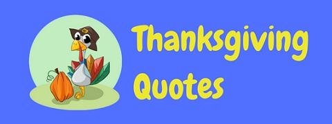 A page of funny Thanksgiving quotes