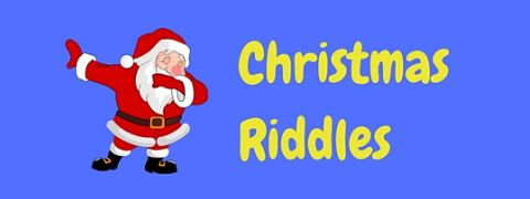 Featured image for Christmas riddles page.