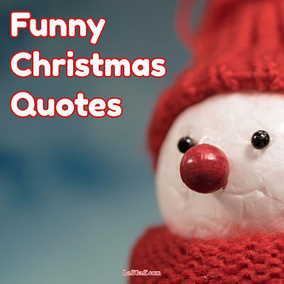 Funny Christmas Quotes | LaffGaff, Home Of Laughter