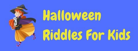 A collection of Halloween riddles for kids