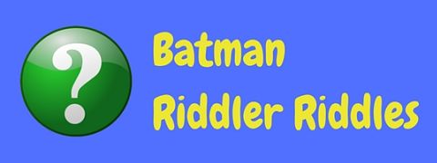 A collection of Riddler riddles from the Batman villain