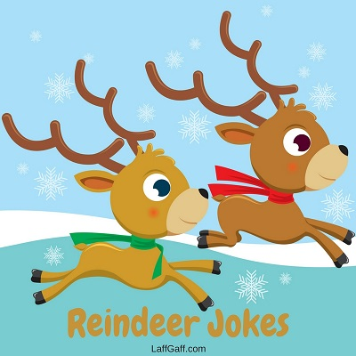 Christmas Puns One Liner.Funny Reindeer Jokes And Puns Laffgaff Home Of Laughter