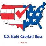 Test your knowledge with this state capitals quiz