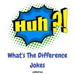 A collection of funny What's The Difference jokes