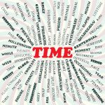 A selection of funny quotes about time