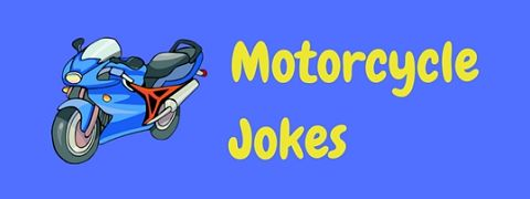 A collection of hilariously funny motorcycle jokes