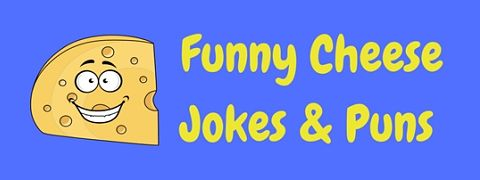 A great collection of funny cheese jokes and puns
