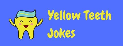 Yellow teeth might be rotten but while reading these yellow teeth jokes might be like being on the laughing gas, it definitely won't be like pulling teeth!