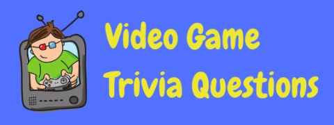 A great selection of video game trivia questions and answers!