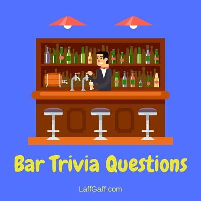 A collection of free bar trivia questions to test your general knowledge.