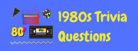 Header image for a page to test your memory with fun 80s trivia questions and answers.