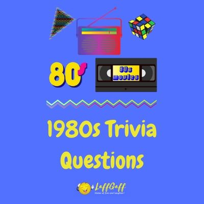 Featured image for a page to test your memory with fun 80s trivia questions and answers.