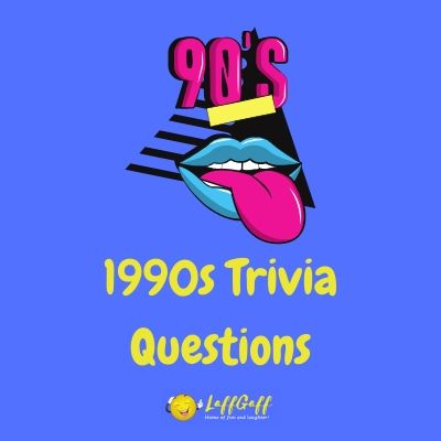 Featured image for a page to test your memory with fun 90s trivia questions and answers.