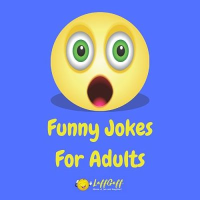 Featured image for a page of funny jokes for adults only.