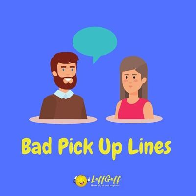 Featured image for a page of really bad pick up lines.