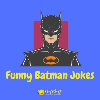 Featured image for a page of funny Batman jokes and puns.