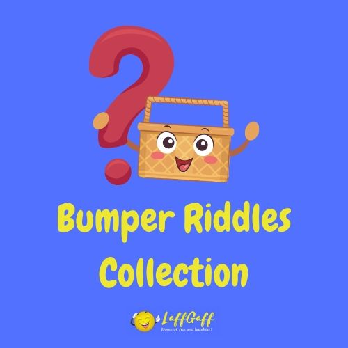 Featured image for a bumper collection of fun riddles.