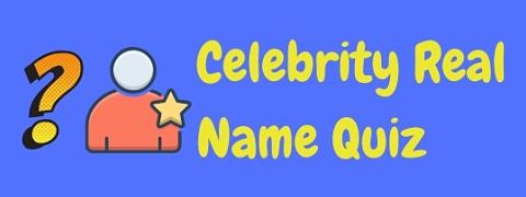 Header image for a page featuring a celebrity real name quiz.