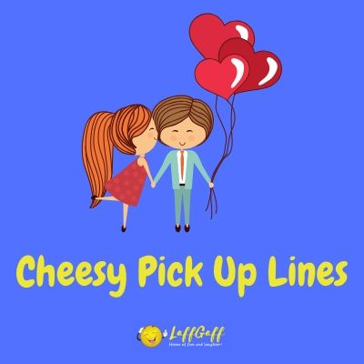 Featured image for a page of cheesy pick up lines.