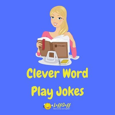 Featured image for a page of clever wordplay jokes.