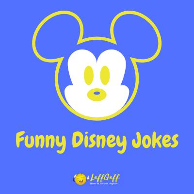 Featured image for a page of funny Disney jokes and puns.