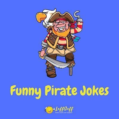 Featured image for a page of pirate jokes and puns.