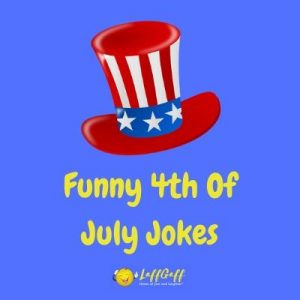 Featured image for a page of funny 4th July jokes.