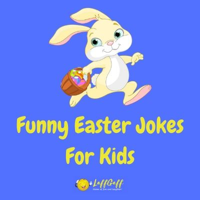 Featured image for a page of funny Easter jokes for kids.