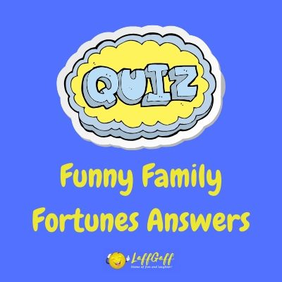 Featured image for a page of funny Family Fortunes quiz show answers.