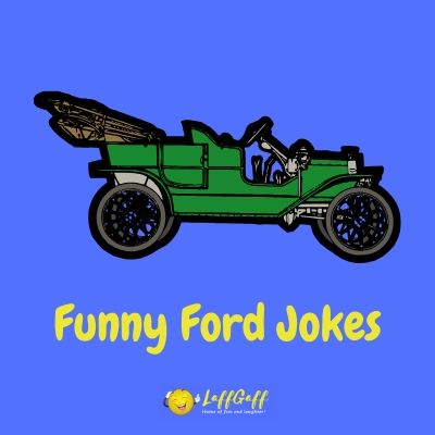 Featured image for a selection of funny Ford jokes.