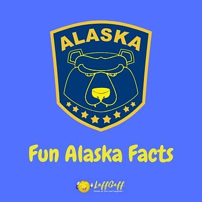 Featured image for a page of interesting and fun Alaska facts.