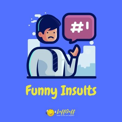 Featured image for a page of funny insults.