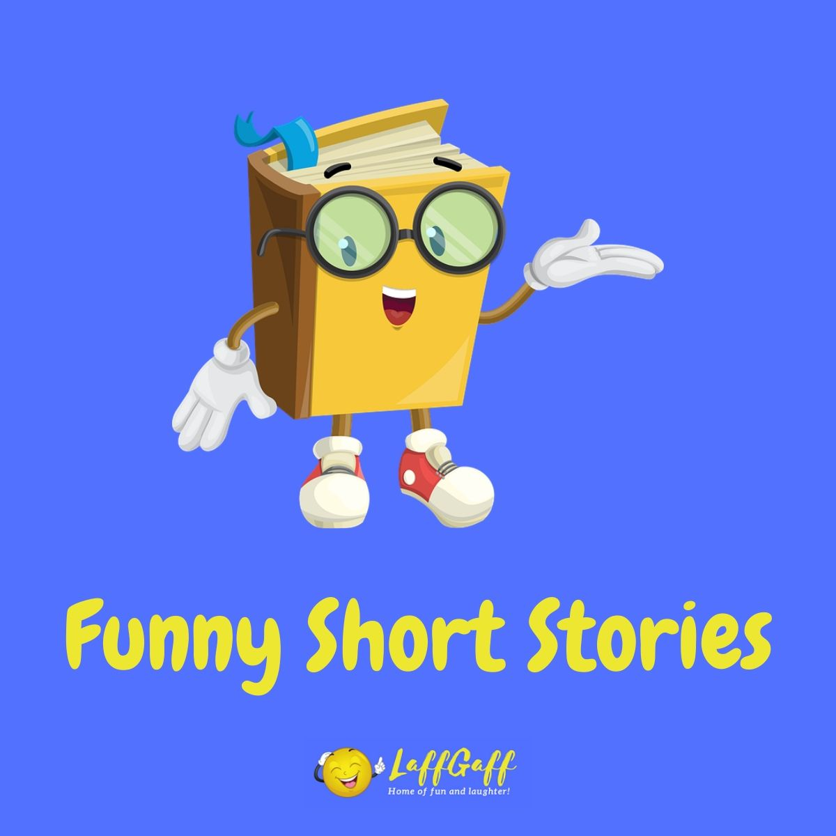 Featured image for a page of funny short stories.