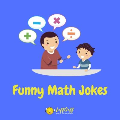 Featured image for a page of funny math jokes.
