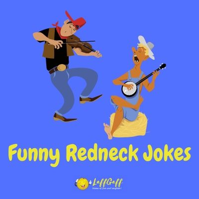 Featured image for a page of funny redneck jokes.
