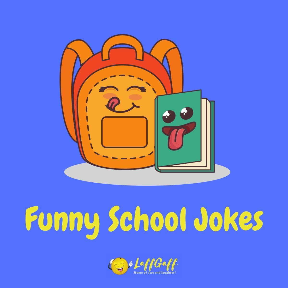 Featured image for a page of funny school jokes and puns.