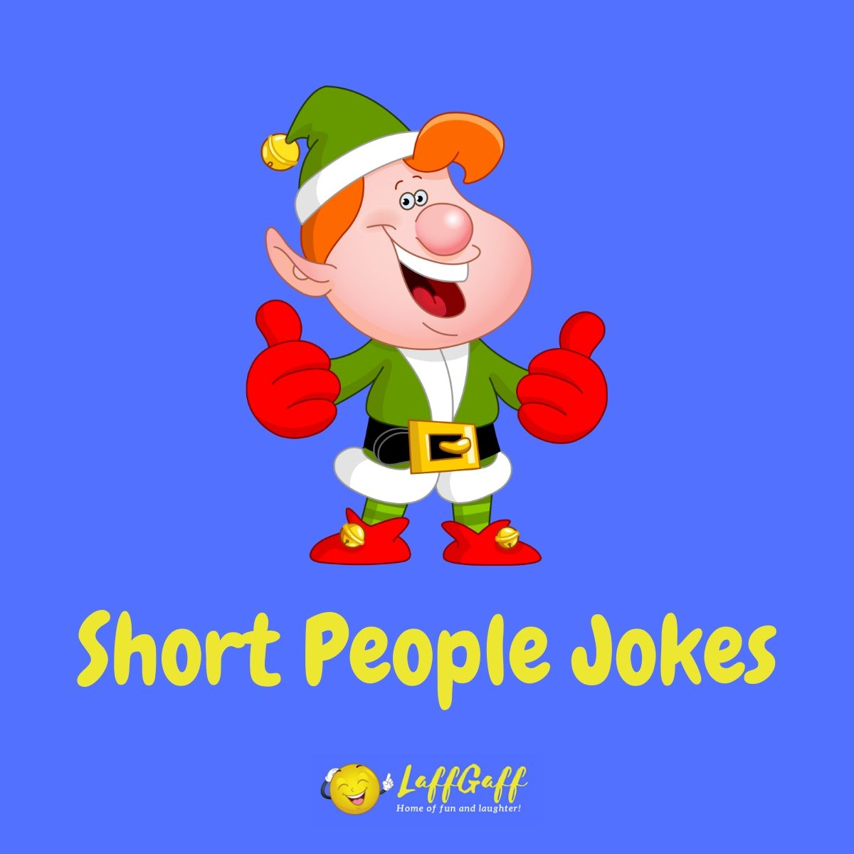Featured image for a page of funny short people jokes.