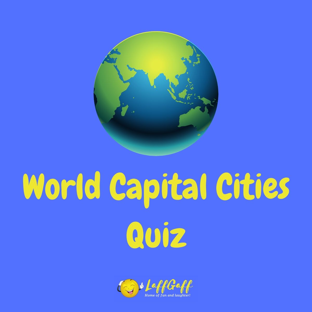 Featured image for a page with a world capital cities quiz.