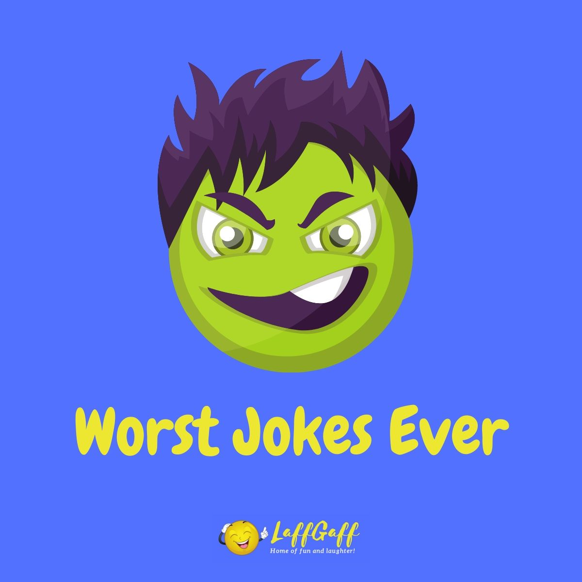 Featured image for a page of some of the worst jokes ever!