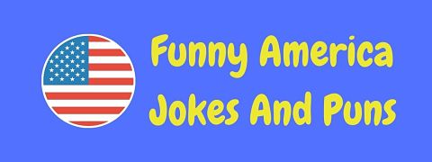 Header image for a page of funny America jokes and puns.